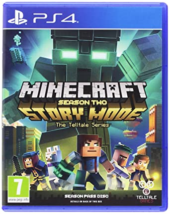 Minecraft Story Mode - Season 2 Pass Disc (PS4): Amazon co uk: PC