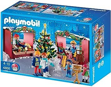 Playmobil Weihnachten.Playmobil 4891 Weihnachtsmarkt