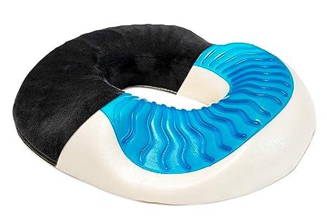 LENIX | Gel Innovador de Donut Asiento Cojín de Anillo para ...