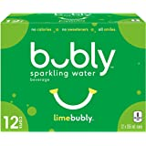 bubly Sparkling Water limebubly, 355 mL Cans, 12 Pack
