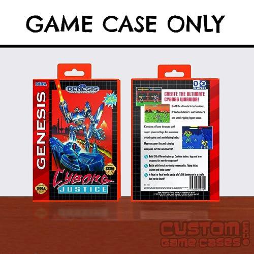 Amazon.com: Sega Genesis Cyborg Justice - Case: Handmade