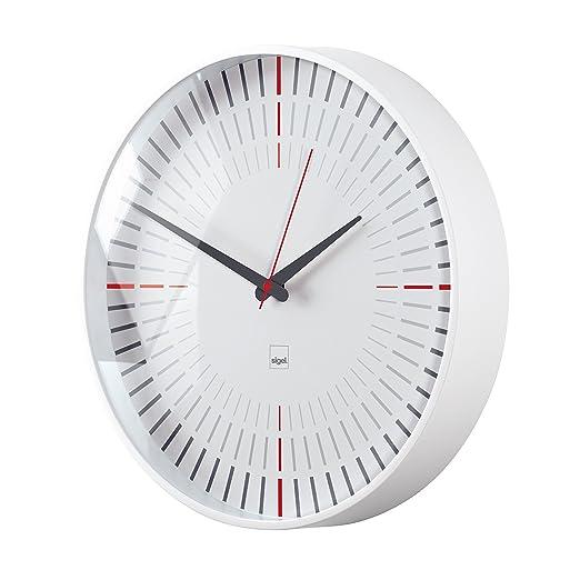 2 opinioni per Sigel WU110 Quartz wall clock Circle White wall clock- wall clocks (AA, 1.5 V,