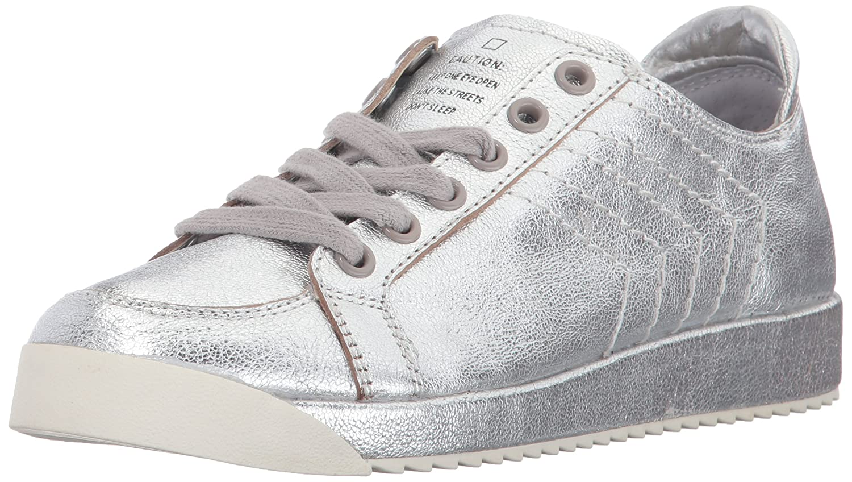 Dolce Vita Women's Sage Sneaker B07211KT3M 10 B(M) US|Silver Leather