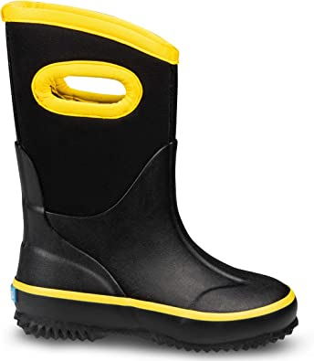 and Toddlers Black Boys ZOOGS Kids Waterproof Rain Boots for Girls