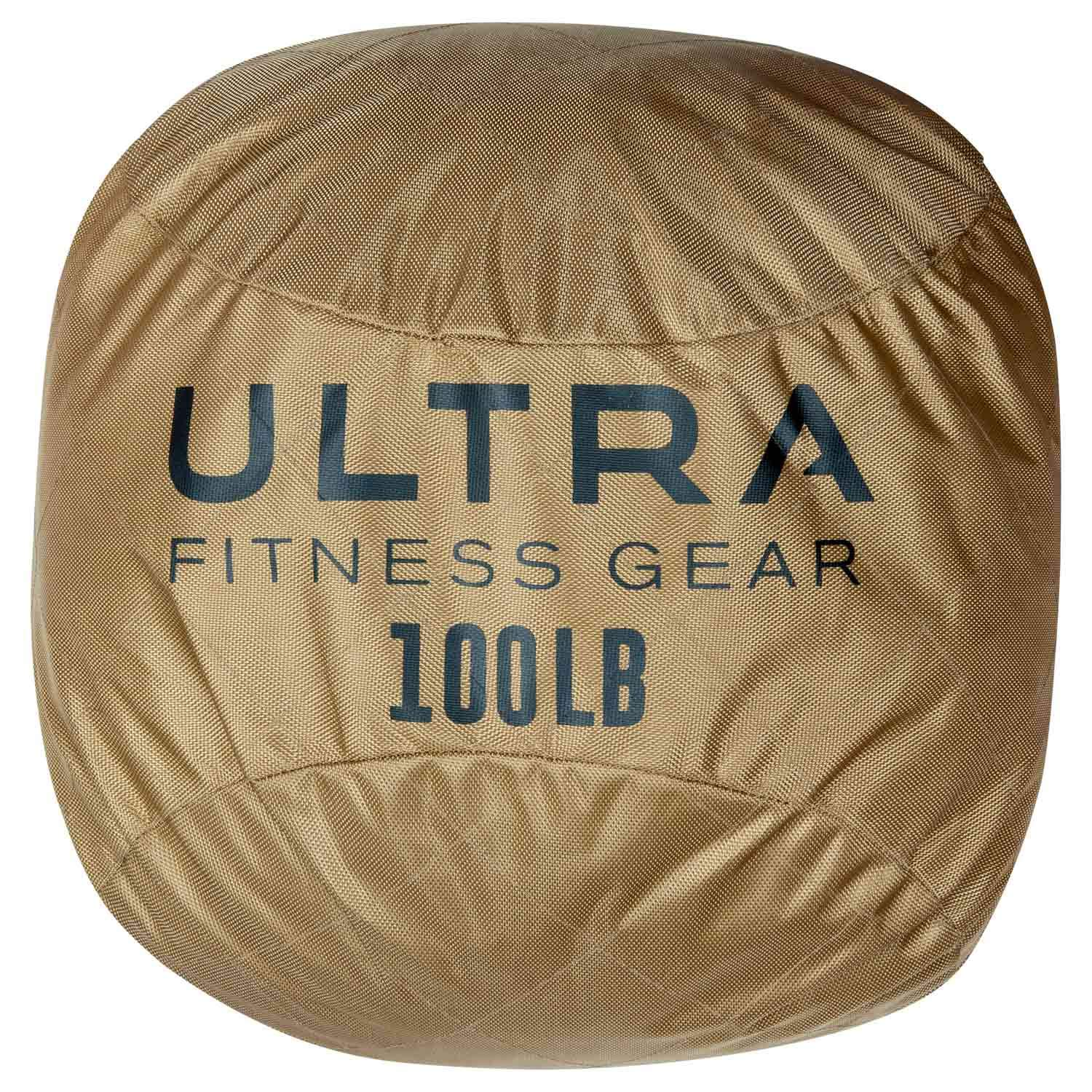 Ultra Fitness Gear Soft Atlas Stone Sandbag, Loadable Up to 100 LB, Includes Ultra Durable Soft Outer Shell and Filler Bag