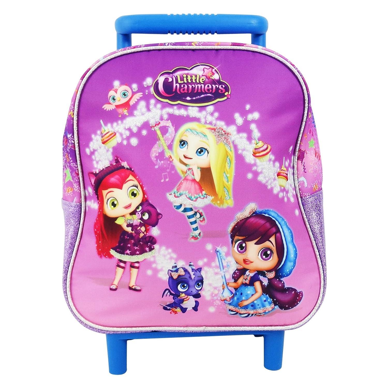 Little Charmers Sac à dos à roulettes Système trolley Sac pour l'ecole maternelle sQ1uGnrURp