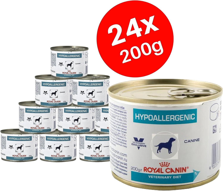 Royal Canín Comida para perros hipoalergénica, 200 g (paquete de 24): Amazon.es: Productos para mascotas