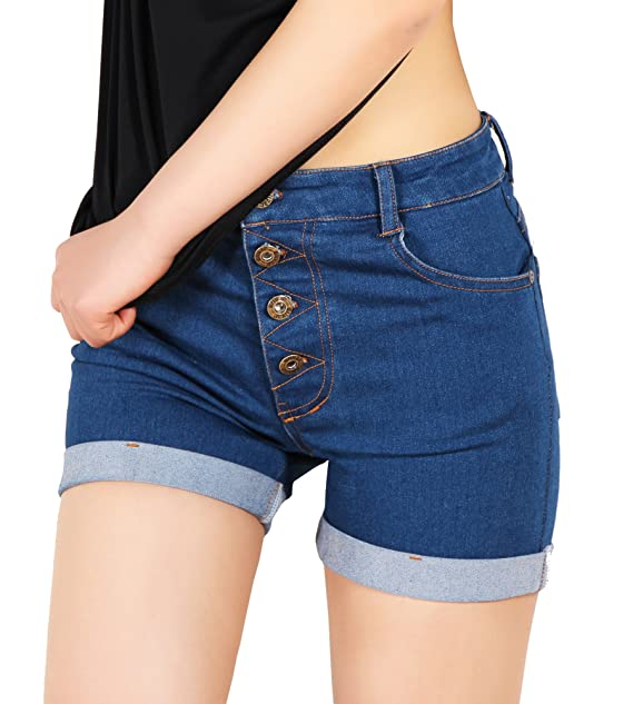 609163cdee3 ladies shorts jeans womens denim shorts Stetchy shorts womens cotton shorts  womens denim shorts size 10