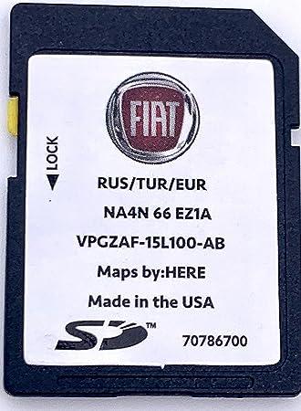 Tarjeta SD GPS FIAT Spider 124 - Europe 2018 - NA4N66EZ1: Amazon.es: Electrónica