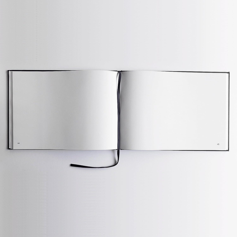 Couverture mate 30 ans Paysage Livre dor orange lettres chrom/ées -100 pages Anniversaire Qualit/é premium souvenirs