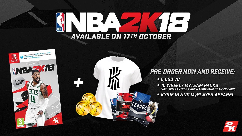 NBA 2K18 - Nintendo Switch [Importación inglesa]: Amazon.es ...