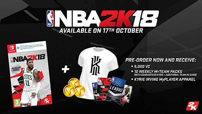 NBA 2K18 - Nintendo Switch [Importación inglesa]: Amazon.es ...