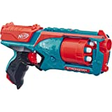 Strongarm Nerf N-Strike Elite Toy Blaster with Rotating Barrel, Slam Fire, and 6 Official Nerf Elite Darts for Kids…