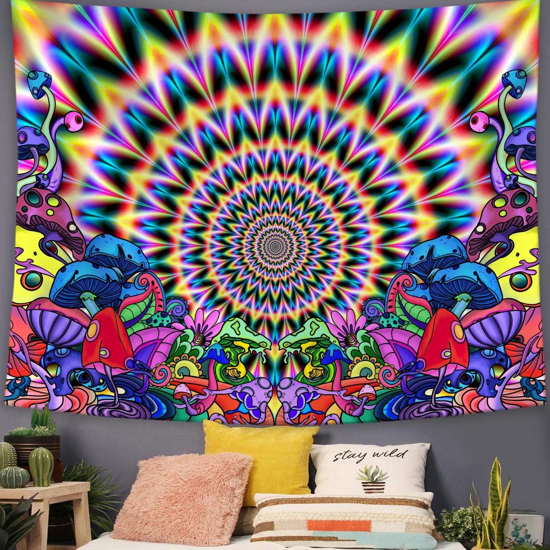 USA Abstract Bookshelf Hippie Tapestry Mandala Wall Hanging Psychedlic Tapestry