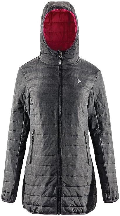 Outhorn KUD604, giacca trapuntata da donna, per inverno ed
