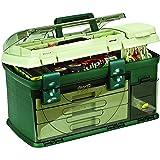 Plano 3-Drawer Tackle Box, Green Metallic/Beige