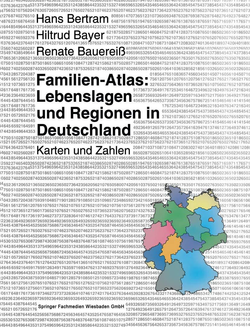 Familien Atlas Lebenslagen Und Regionen In Deutschland Karten