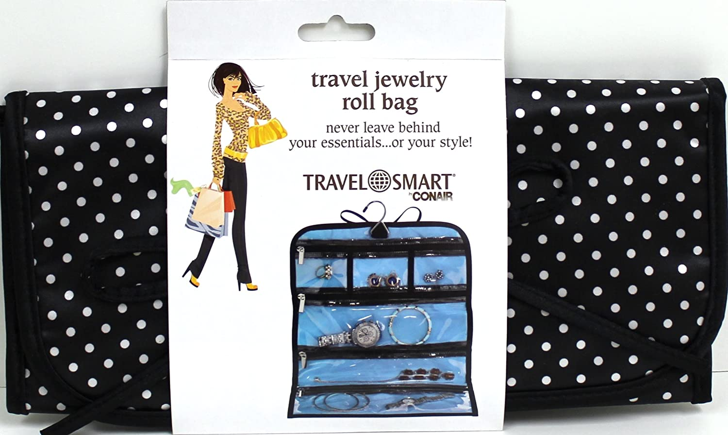 Amazoncom Travel Smart by Conair Jewelry Roll Bag Health