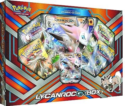 Pokémon TCG: lycanroc-gx caja juego de cartas: Amazon.es: Hogar