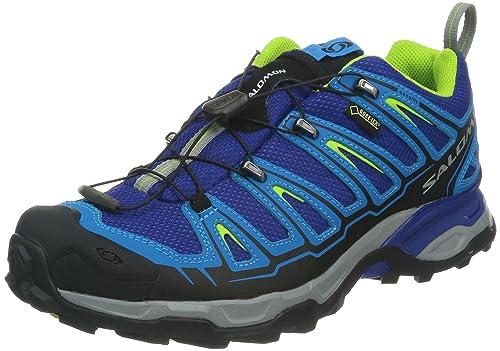 Salomon X Ultra - Zapatillas de trekking para hombre - azul Talla 41 1/3 2014: Amazon.es: Zapatos y complementos