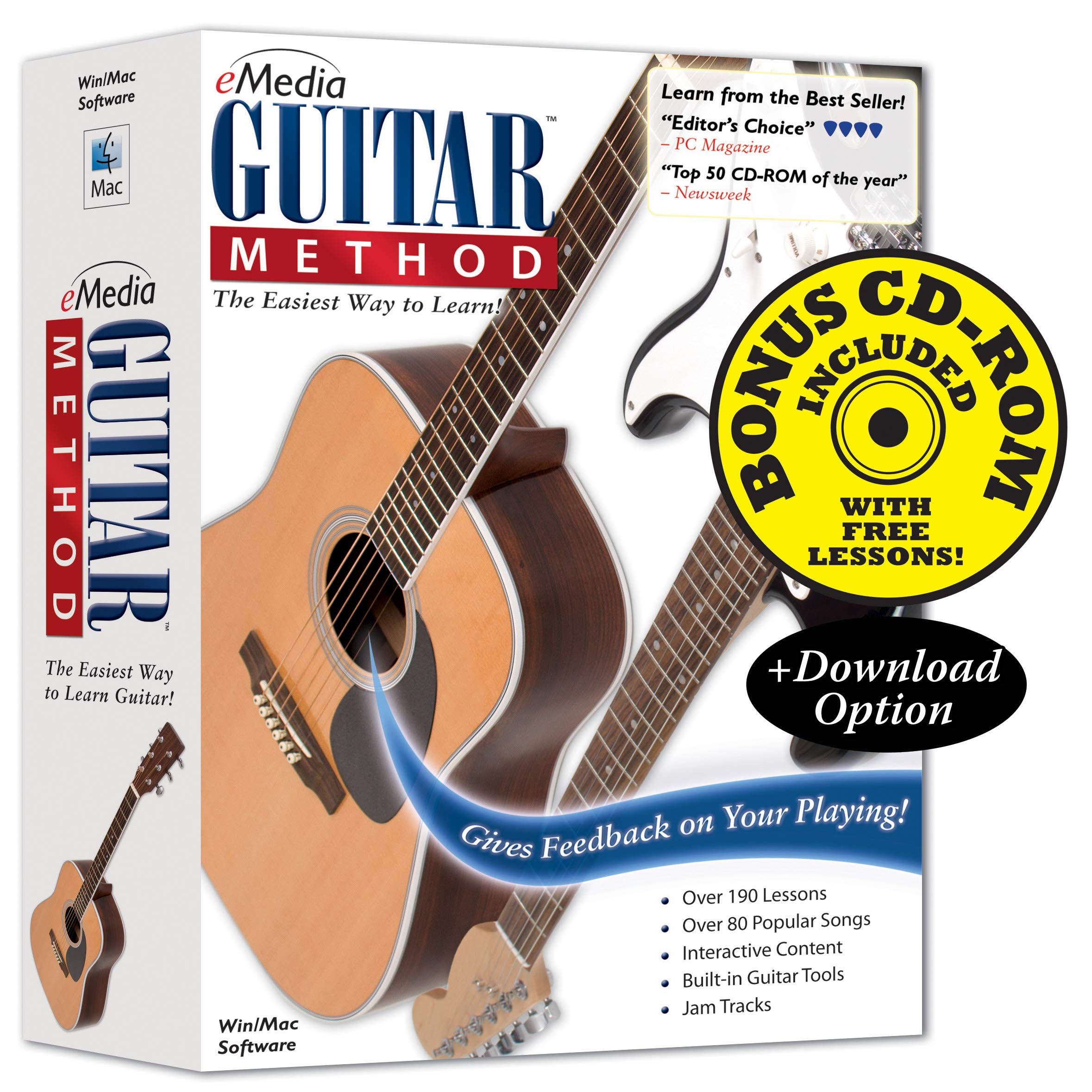 eMedia Guitar Method v6 - Special Edition with 170+ Additional Lessons