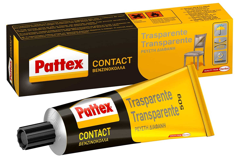 50 G Trasparente Adesivo Contact 1419320 Pattex twTIqPx