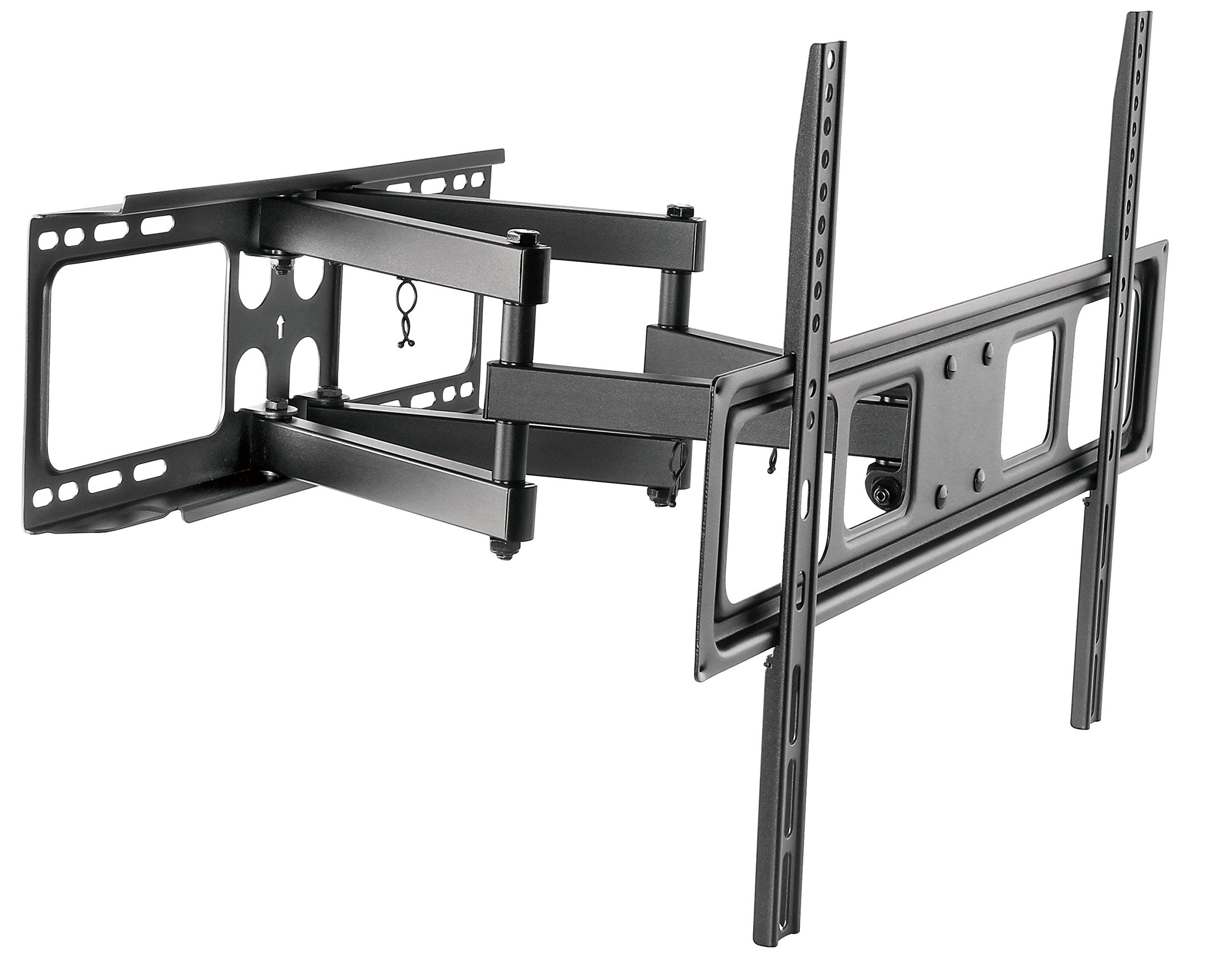 Husky Mount Full Motion TV Wall Mount Bracket Fits Most 32''-70'' LED LCD Flat Screen Up to 88 lbs by Husky Mounts