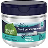 Seventh Generation Laundry Stain Remover Packs Oxy Booster 17.6 Oz- Pack of 6