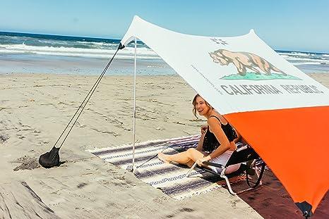 Ombrellone Piccolo Da Spiaggia.Neso Tenda Da Spiaggia Tents Con Ancoraggio A Sabbia Parasole Portatile 2 1mx 2 1m Angoli Rinforzati Brevettati Colore