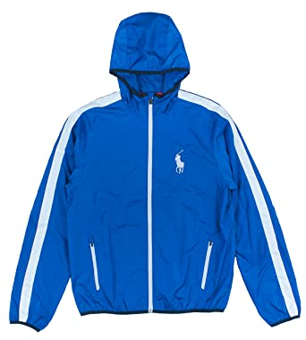 Polo Ralph Lauren AC Tournament Full Zip Performance Jacket, Pacific Royal,  X-Large at Amazon Men\u0027s Clothing store: