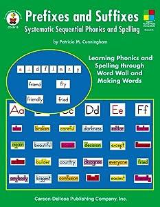 Prefixes and Suffixes, Grades 3 - 8
