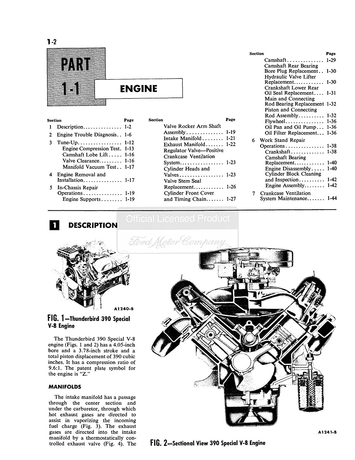 1961 1962 1963 Ford Thunderbird W Convertible Tops Wiring Diagram For Top Manual Shop Cd Oem Automotive