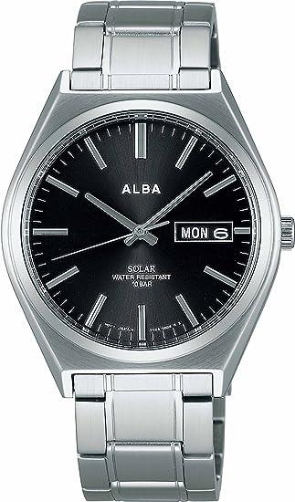 [セイコーウォッチ] 腕時計 アルバ SOLAR ソーラー ペアモデル ハードレックス AEFD534 シルバー