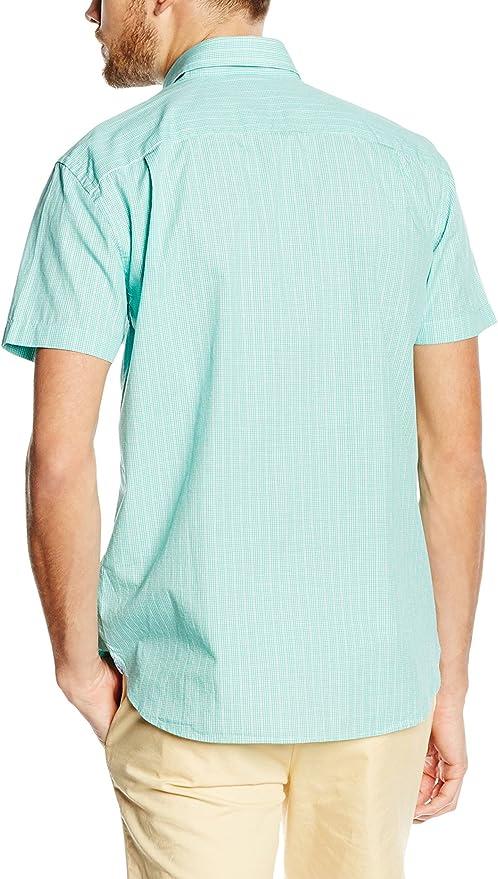 Pedro Del Hierro 7695357, Camisa Hombre para Hombre, Verde ...