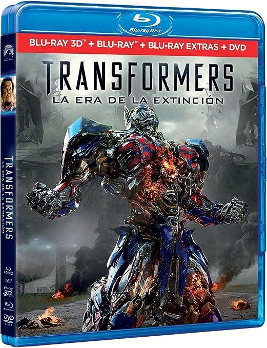 Transformers 4: La Era De La Extinción BD 3D + BD + BD Extras + ...