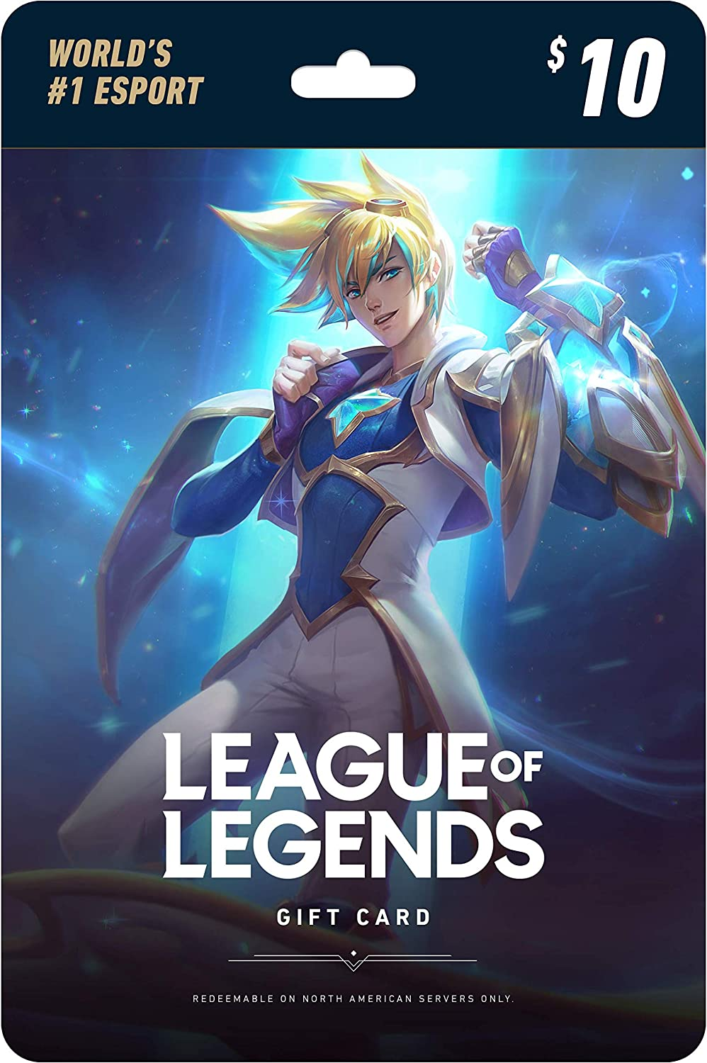 Amazon.com: League of Legends $10 Gift Card - NA Server Only ...