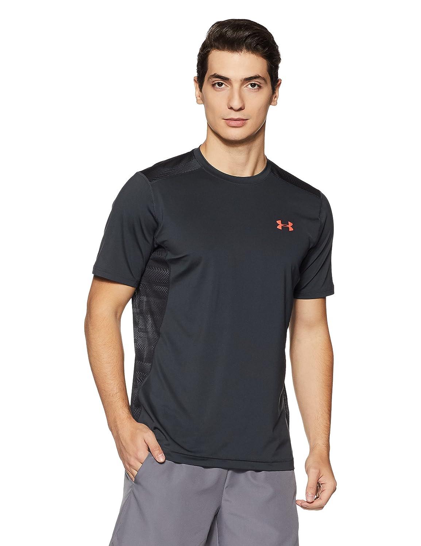 (アンダーアーマー) UNDER ARMOUR ヒットヒートギアSS(トレーニング/Tシャツ/MEN)[1257466] B01MAZ7WUX XL Anthracite/Marathon Red Anthracite/Marathon Red XL