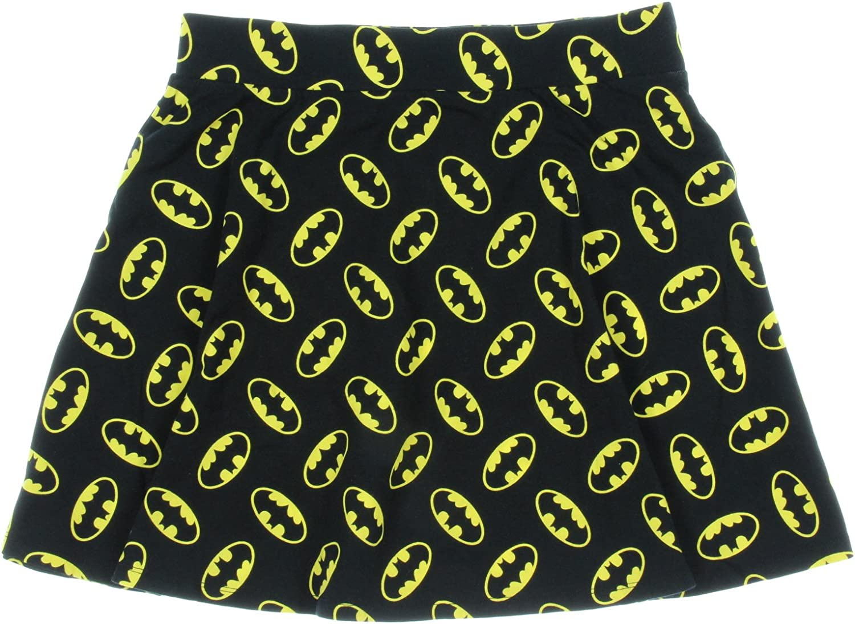 Falda para mujer DC Comic Batman Emblem All-Over Junior (Mediana ...