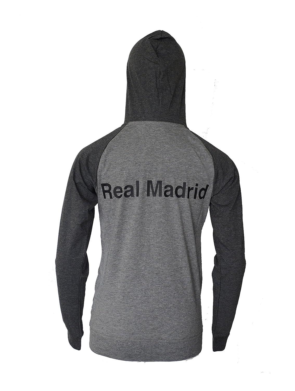 Amazon.com: Real Madrid sudadera con capucha Fútbol FZ Luz ...