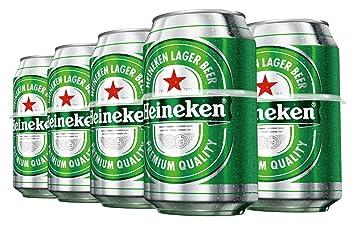 Heineken Cerveza - Pack 8 Latas x 330 ml - Total: 2.64 L: Amazon.es: Amazon Pantry