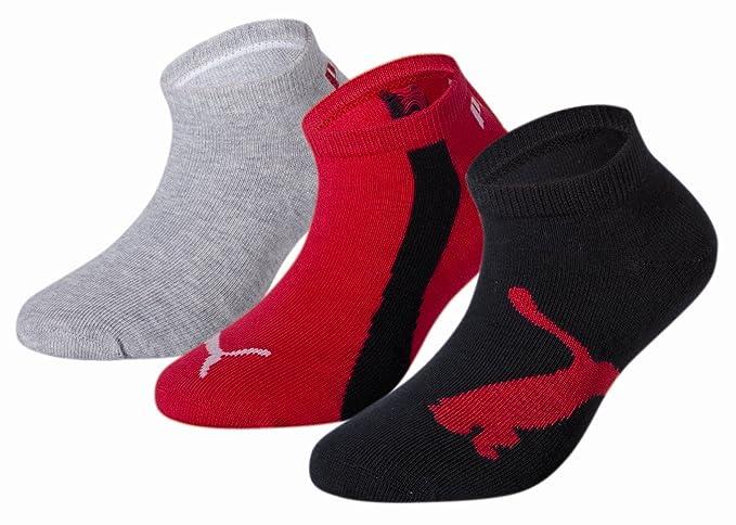 Puma Lifestyle Chaussettes de Sport Lot de 3 Graphique Mixte Enfant