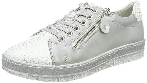 Remonte D5800, Zapatillas para Mujer, Beige (Nebbia/Argento/Argento), 43 EU