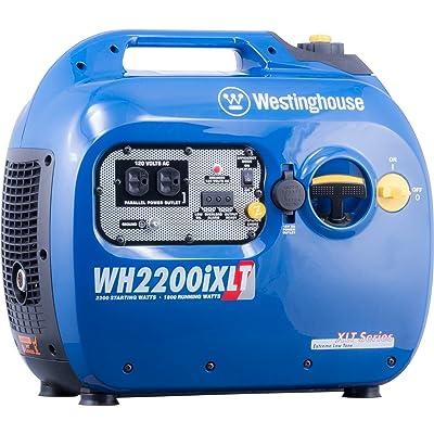 Westinghouse WH2200iXLT Super Quiet Portable Inverter Generator 1800 Rated & 2200 Peak Watts