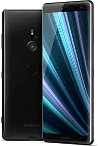 "Sony Xperia XZ3 Unlocked Smartphone, 64GB - 6.0"" OLED Screen - Black (US Warranty) [Phone ONLY Version]"