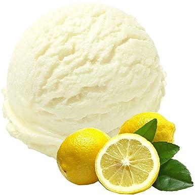 Sabor de Limón 1 Kg de Helado en Polvo Gino Gino Helado de Helado en Polvo