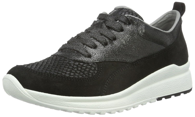 Legero Damen Marina 700897 Sneaker Schwarz (Schwarz Kombi 02)