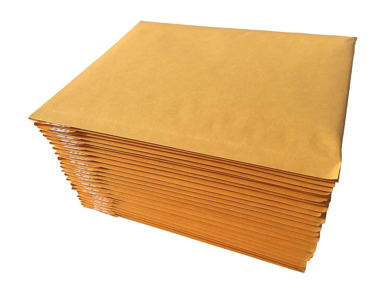 AZ-Cover Kraft Bubble Mailer, 0, 6 x 9, Pack of 25 6 x 9 AZC025