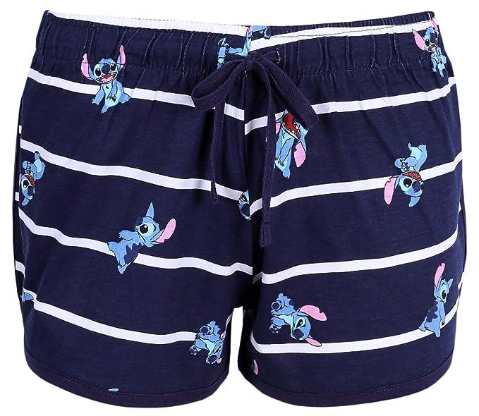 Pantalones Cortos, Rayas, Stitch Disney: Amazon.es: Ropa y ...