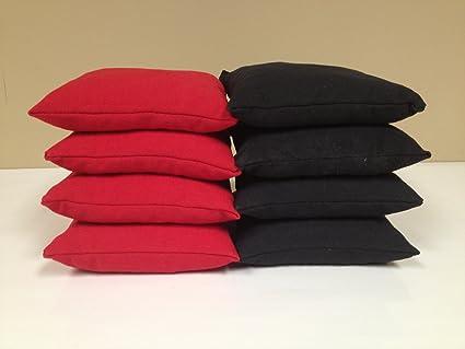 Virginia Flag Cornhole Boards Regulation Size Game Set Baggo Bean Bag Toss 8 ACA Regulation Bags