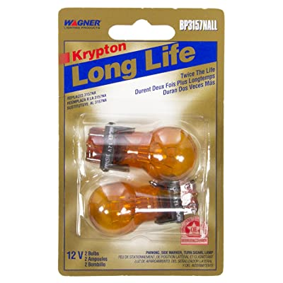 Wagner Lighting BP3157NALL Long Life Natural Amber Miniature Bulb - Card of 2: Automotive